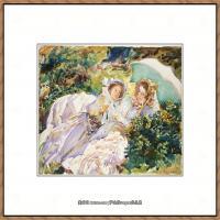 约翰萨金特John Singer Sargent美国肖像画家水彩画家绘画作品集萨金特水彩作品 (136)