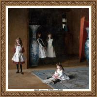 约翰萨金特John Singer Sargent美国肖像画家水彩画家绘画作品集萨金特油画作品 (61)
