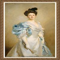 约翰萨金特John Singer Sargent美国肖像画家水彩画家绘画作品集萨金特油画作品 (67)