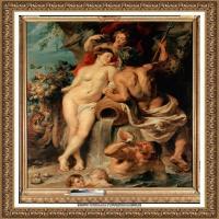 彼得保罗鲁本斯Peter Paul Rubens德国巴洛克画派画家古典油画人物高清图片宗教油画高清大图 (12)