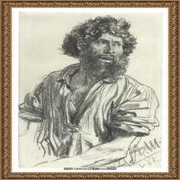 阿道夫门采尔Adolf Menzel德国著名油画家版画家插图画家绘画作品集素描手稿底稿经典作品图片 (12)