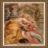 彼得保罗鲁本斯Peter Paul Rubens德国巴洛克画派画家古典油画人物高清图片宗教油画高清大图 (704)