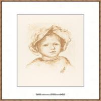 皮埃尔奥古斯特雷诺阿Pierre Auguste Renoir法国印象派重要画家雷诺阿印象派素描作品集 Pierre R