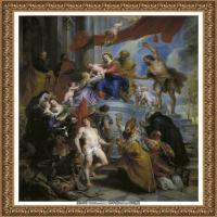 彼得保罗鲁本斯Peter Paul Rubens德国巴洛克画派画家古典油画人物高清图片宗教油画高清大图 (24)
