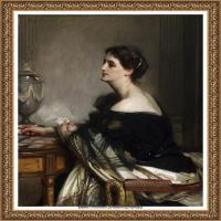 约翰萨金特John Singer Sargent美国肖像画家水彩画家绘画作品集萨金特油画作品 (36)