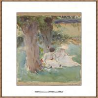 约翰萨金特John Singer Sargent美国肖像画家水彩画家绘画作品集萨金特水彩作品 (137)