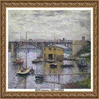 克劳德莫奈Claude Monet法国印象派画家绘画作品集莫奈名画高清图片 (437)