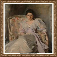 约翰萨金特John Singer Sargent美国肖像画家水彩画家绘画作品集萨金特油画作品 (44)