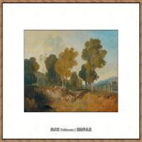 约瑟夫马洛德威廉透纳Joseph Mallord William Turner英国学院派透纳画家西方经典绘画作品集 (9