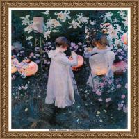 约翰萨金特John Singer Sargent美国肖像画家水彩画家绘画作品集萨金特油画作品 (5)