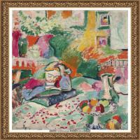 亨利马蒂斯Henri Matisse法国著名野兽派画家绘画作品集油画作品高清大图 (29)