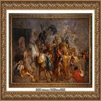彼得保罗鲁本斯Peter Paul Rubens德国巴洛克画派画家古典油画人物高清图片宗教油画高清大图 (29)