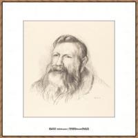 皮埃尔奥古斯特雷诺阿Pierre Auguste Renoir法国印象派重要画家雷诺阿印象派素描作品集Auguste R