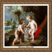 彼得保罗鲁本斯Peter Paul Rubens德国巴洛克画派画家古典油画人物高清图片宗教油画高清大图 (577)