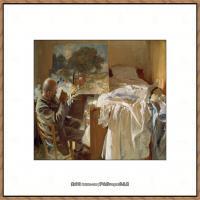 约翰萨金特John Singer Sargent美国肖像画家水彩画家绘画作品集萨金特水彩作品 (135)
