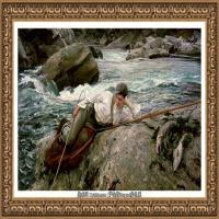 约翰萨金特John Singer Sargent美国肖像画家水彩画家绘画作品集萨金特油画作品 (45)