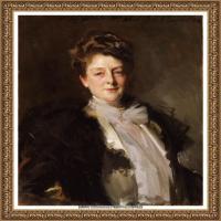 约翰萨金特John Singer Sargent美国肖像画家水彩画家绘画作品集萨金特油画作品 (14)