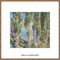 约翰萨金特John Singer Sargent美国肖像画家水彩画家绘画作品集萨金特水彩作品 (127)