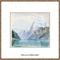 约翰萨金特John Singer Sargent美国肖像画家水彩画家绘画作品集萨金特水彩作品 (123)