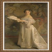 约翰萨金特John Singer Sargent美国肖像画家水彩画家绘画作品集萨金特油画作品 (7)