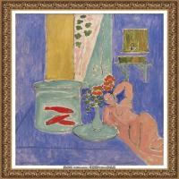 亨利马蒂斯Henri Matisse法国著名野兽派画家绘画作品集油画作品高清大图 (27)