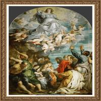 彼得保罗鲁本斯Peter Paul Rubens德国巴洛克画派画家古典油画人物高清图片宗教油画高清大图 (562)