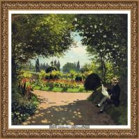 克劳德莫奈Claude Monet法国印象派画家绘画作品集莫奈名画高清图片 (381)