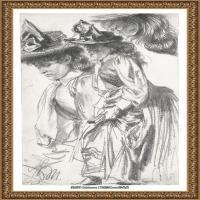 阿道夫门采尔Adolf Menzel德国著名油画家版画家插图画家绘画作品集素描手稿底稿经典作品图片 (8)