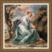 彼得保罗鲁本斯Peter Paul Rubens德国巴洛克画派画家古典油画人物高清图片宗教油画高清大图 (659)