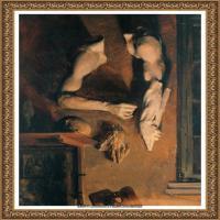 阿道夫门采尔Adolf Menzel德国著名油画家版画家插图画家绘画作品集西方绘画大师经典作品集 (12)
