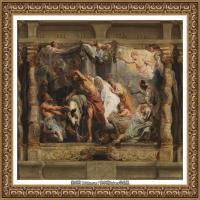 彼得保罗鲁本斯Peter Paul Rubens德国巴洛克画派画家古典油画人物高清图片宗教油画高清大图 (37)