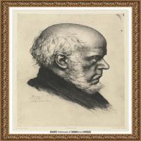 阿道夫门采尔Adolf Menzel德国著名油画家版画家插图画家绘画作品集素描手稿底稿经典作品图片 (30)