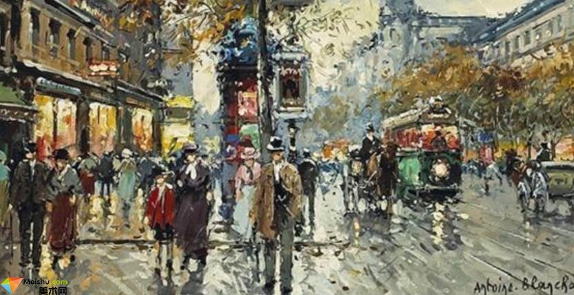 安托万·布兰查德-油画展(一)