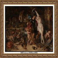 彼得保罗鲁本斯Peter Paul Rubens德国巴洛克画派画家古典油画人物高清图片宗教油画高清大图 (11)