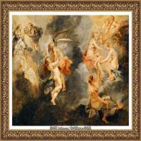 彼得保罗鲁本斯Peter Paul Rubens德国巴洛克画派画家古典油画人物高清图片宗教油画高清大图 (582)