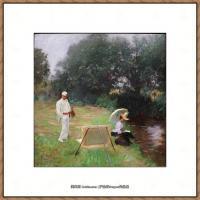 约翰萨金特John Singer Sargent美国肖像画家水彩画家绘画作品集萨金特水彩作品 (99)