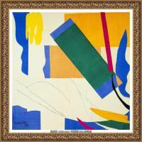 亨利马蒂斯Henri Matisse法国著名野兽派画家绘画作品集油画作品高清大图 (26)
