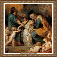 彼得保罗鲁本斯Peter Paul Rubens德国巴洛克画派画家古典油画人物高清图片宗教油画高清大图 (619)