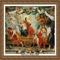 彼得保罗鲁本斯Peter Paul Rubens德国巴洛克画派画家古典油画人物高清图片宗教油画高清大图 (191)