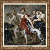 彼得保罗鲁本斯Peter Paul Rubens德国巴洛克画派画家古典油画人物高清图片宗教油画高清大图 (71)