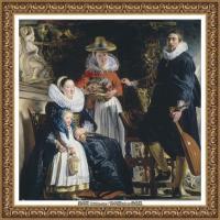 彼得保罗鲁本斯Peter Paul Rubens德国巴洛克画派画家古典油画人物高清图片宗教油画高清大图 (21)