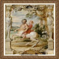 彼得保罗鲁本斯Peter Paul Rubens德国巴洛克画派画家古典油画人物高清图片宗教油画高清大图 (586)