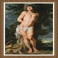 彼得保罗鲁本斯Peter Paul Rubens德国巴洛克画派画家古典油画人物高清图片宗教油画高清大图 (675)