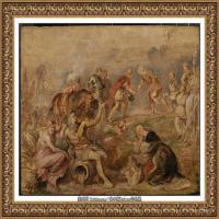 彼得保罗鲁本斯Peter Paul Rubens德国巴洛克画派画家古典油画人物高清图片宗教油画高清大图 (10)