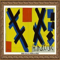 亨利马蒂斯Henri Matisse法国著名野兽派画家绘画作品集油画作品高清大图 (6)