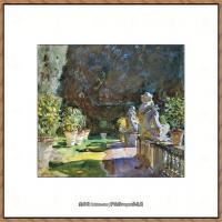 约翰萨金特John Singer Sargent美国肖像画家水彩画家绘画作品集萨金特水彩作品 (131)