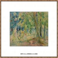 贝尔特莫里索Berthe Morisot法国印象派女画家绘画作品高清图片莫里索油画作品高清图片 (18)