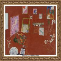 亨利马蒂斯Henri Matisse法国著名野兽派画家绘画作品集油画作品高清大图 (23)