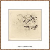 贝尔特莫里索Berthe Morisot法国印象派女画家绘画作品集素描手绘手稿底稿高清图片 (1)