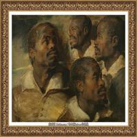 彼得保罗鲁本斯Peter Paul Rubens德国巴洛克画派画家古典油画人物高清图片宗教油画高清大图 (9)